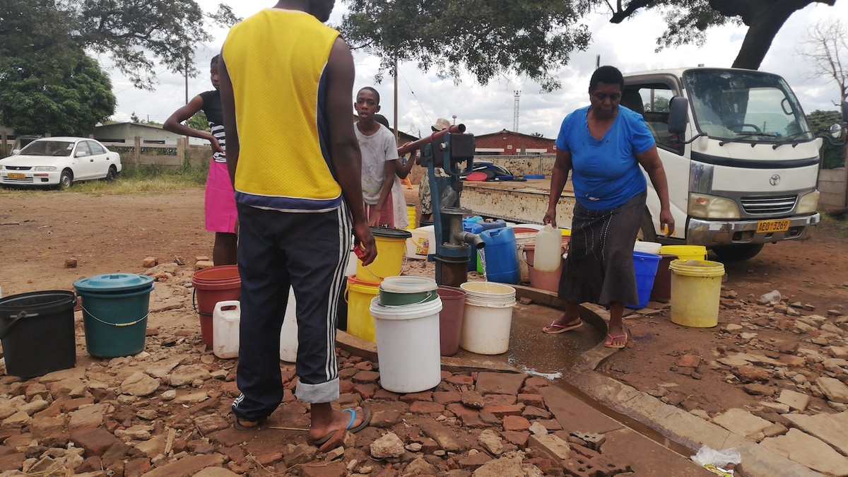 Zimbabwe's Growing Water Crisis Is Complicating Its COVID-19 Response