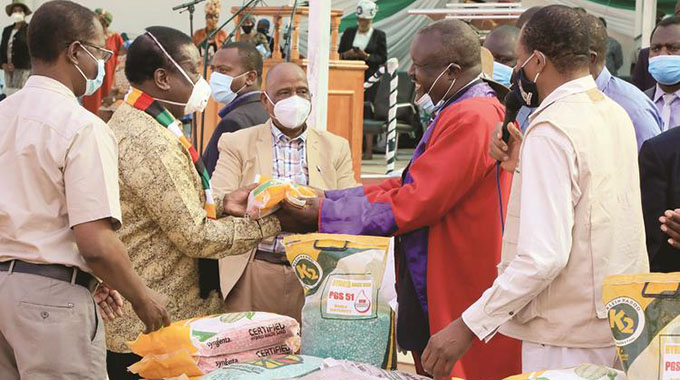 Agriculture heartbeat of nation — President