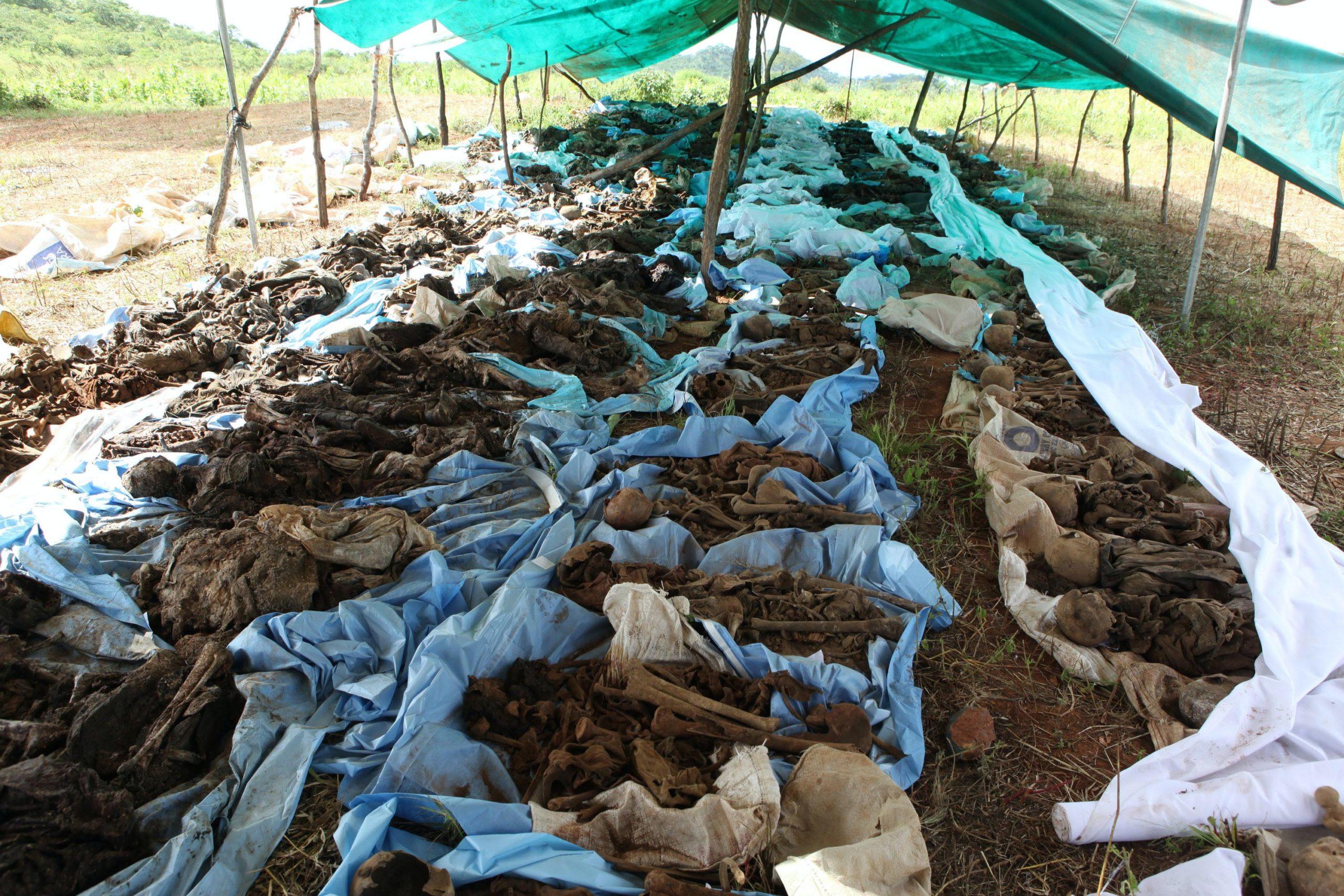 Hundreds of skeletons found in Zimbabwean mineshafts