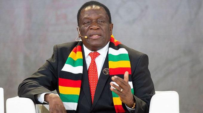 JUST IN: President Mnangagwa wishes Trump well
