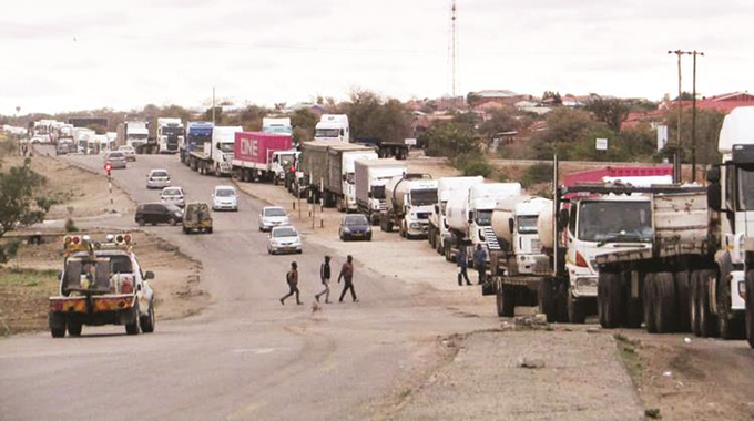 Delays in cargo clearance at Beitbridge