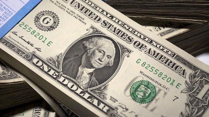 US dollar change, torn notes for sale