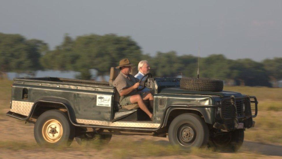 Nick Murray and Sir David Attenborough