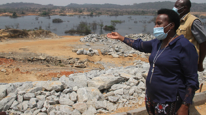 Major dam project nears completion