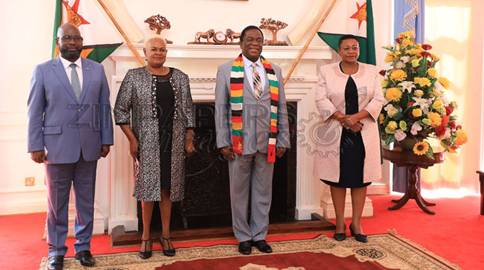 JUST IN: President meets ambassador-designates