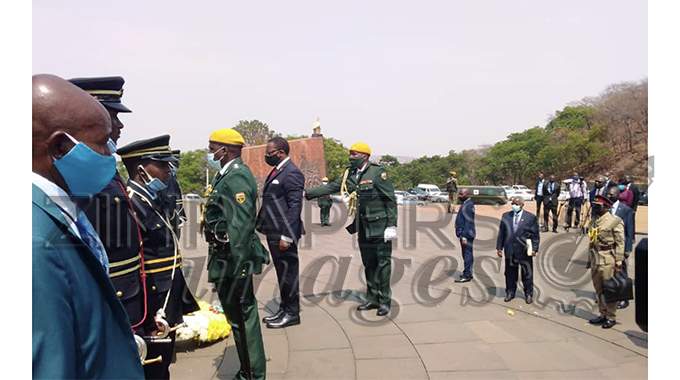 JUST IN: Malawian President visits the Heroes Acre