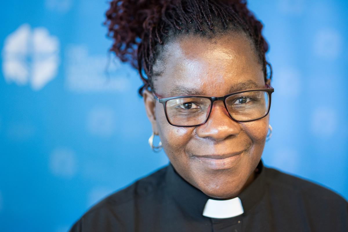 "Rev. Elitha Moyo Gender Justice Coordinator for the ELCZ says, ""We need to appreciate each other regardless of gender."" Photo: LWF/Albin Hillert"