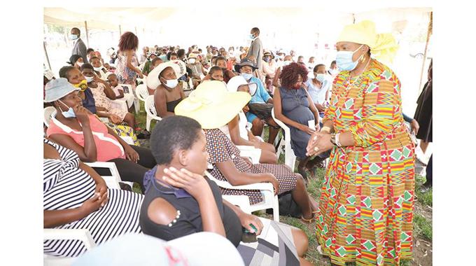 First Lady's feeding scheme targets urbanites