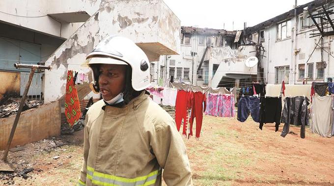 Gas tank blast guts apartments