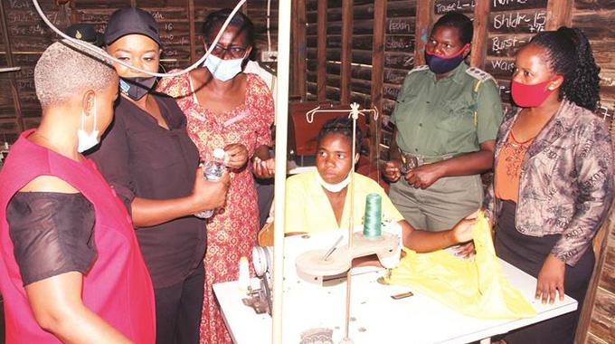 Business delegation tours chikurubi female prison