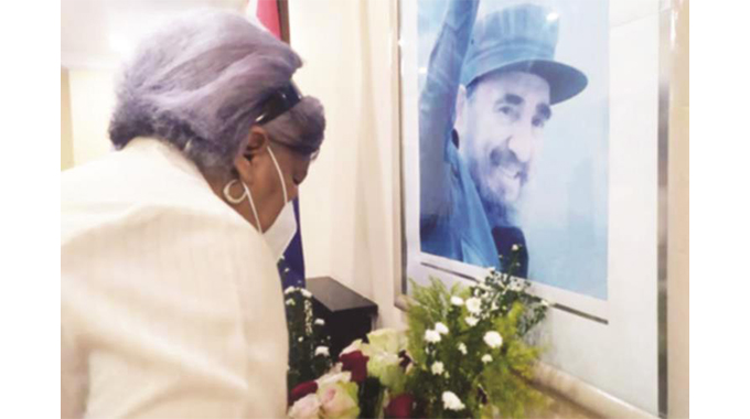 Cubans in Angola pay tribute to Castro