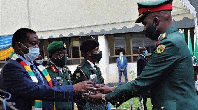 'Second Republic committed to nurturing ZDF's young officers'