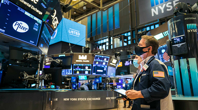 U.S. stocks jump after Moderna vaccine breakthrough — Keris Lahiff