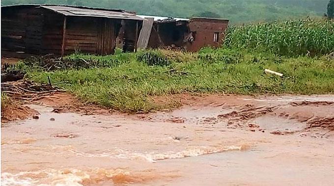 Storms leave 2 dead, trail of destruction