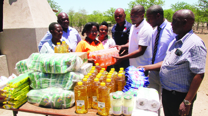 City Park, Harare Quarry donate to Chambuta