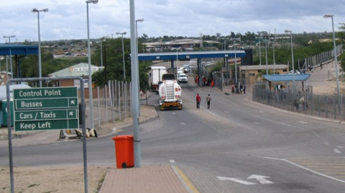 JUST IN: Unexpected low traffic at Beitbridge border