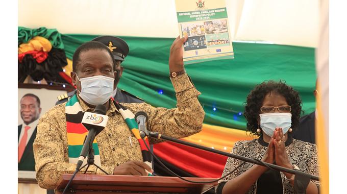 President rallies SMES for economic growth