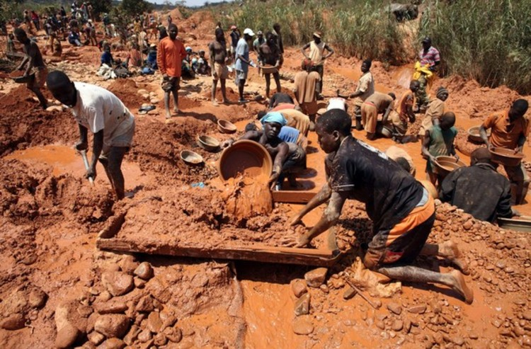 Firm co-opts artisanal miners