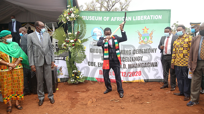 JUST IN: President officiates at Museum of Africa ground breaking ceremony