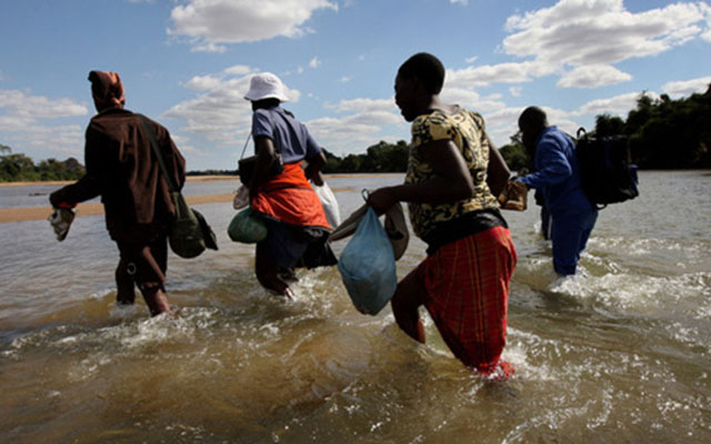 Suspected border jumper drowns in Limpopo River