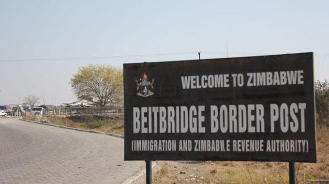 Traffic surges at Beitbridge