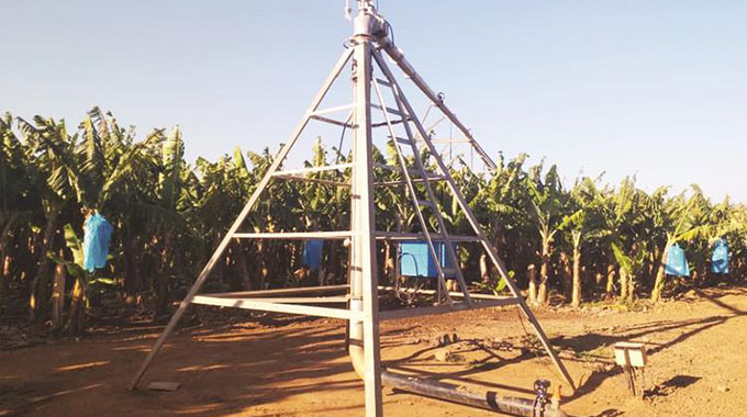 Boost for Middle Sabi farmers