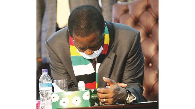President humbles at thanksgiving prayer