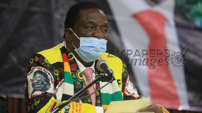 JUST IN: President salutes resolute Zimbabweans