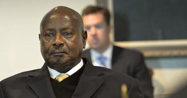 U.S.-backed dictator Museveni