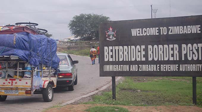 Congestion persists at Beitbridge Border Post