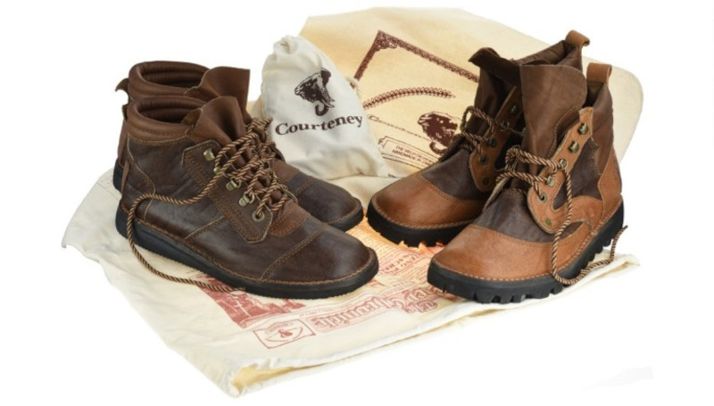 The Courteney Boot Company manufactures a variety of safari boots.