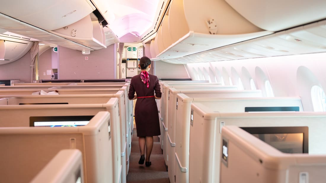 China's Civil Aviation Administration has issued new advice on how cabin crew can stay safe.