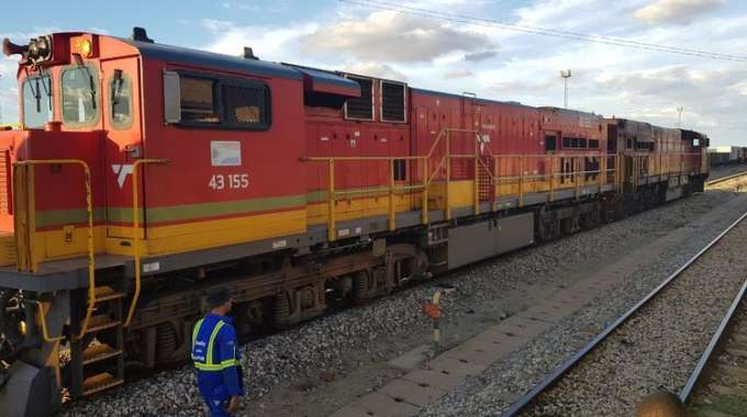 Zim rail system worst in region. . . designed capacity down by 80pc