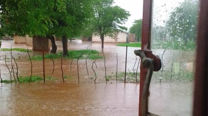 JUST IN: Floods destroy homes in Chipinge on Christmas day . . .