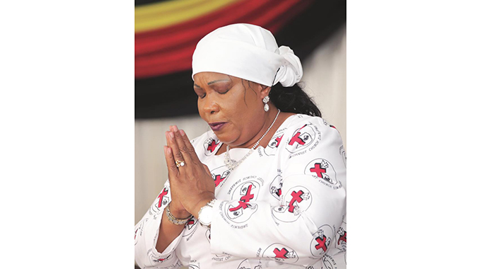Churches join First Lady in fasting