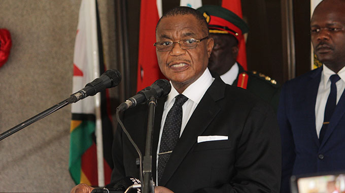 JUST IN: Acting President Chiwenga mourns heroes . . .