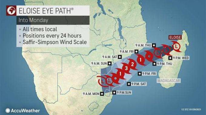 JUST IN: Heavy rains, strong winds expected . . .