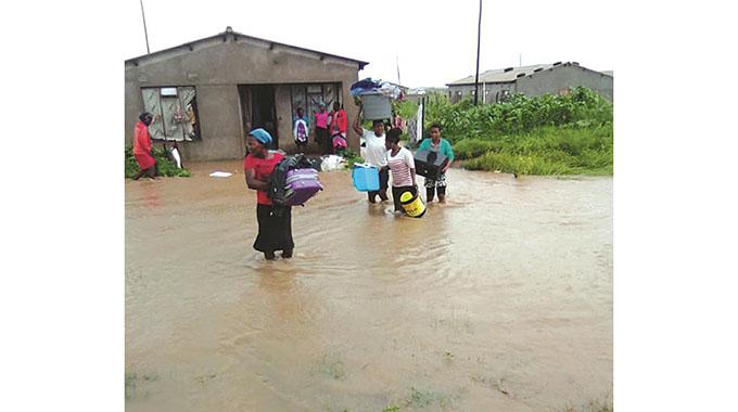30 families moved in Gweru as rains damage B/bridge roads