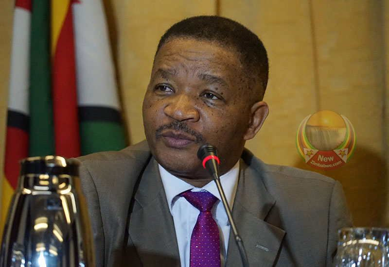 Lands and agriculture minister Perrance Shiri, a former Air Force of Zimbabwe commander,