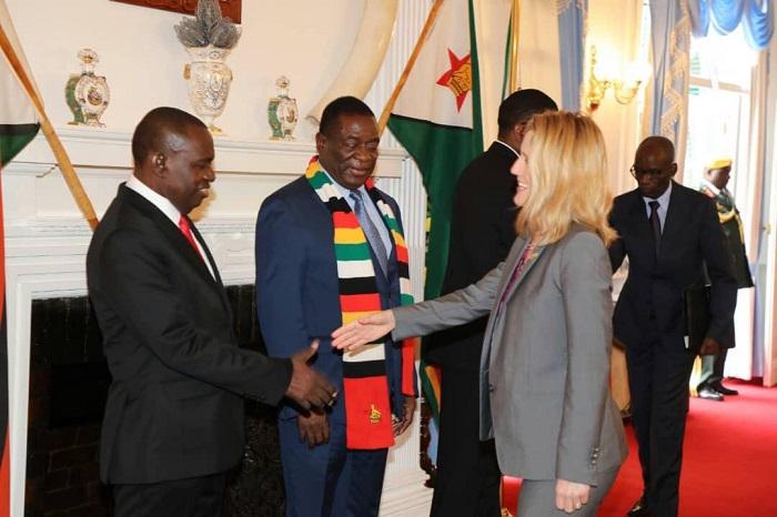 Melanie Robinson, Sibusiso Moyo Emmerson Mnangagwa