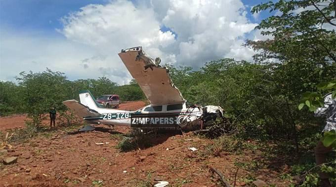 BREAKING: Four escape death as plane crash lands