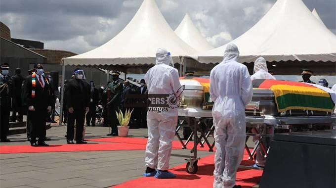 Struggle stalwarts Malianga, Gwaradzimba laid to rest