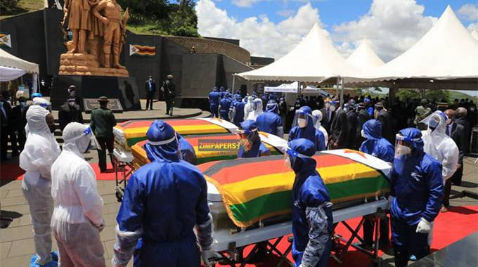 JUST IN: National Heroes buried