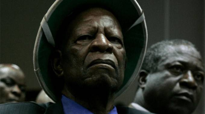 JUST IN: Chief Mashayamombe laid to rest