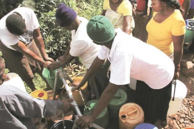 Women exposed to coronavirus, abuse at boreholes