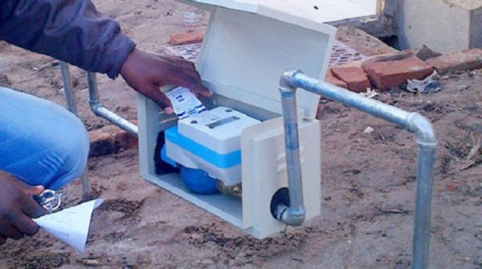 Zinwa to roll out pre-paid water meters