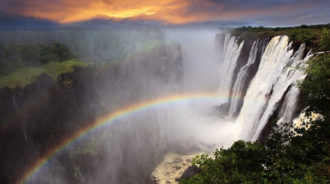 Vic Falls records highest flows for the month of February
