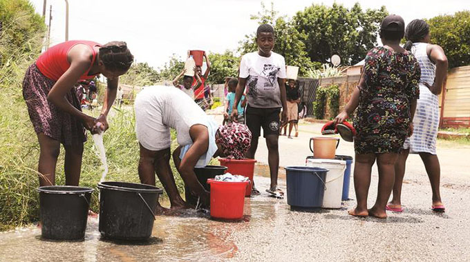 Treated water goes to waste as Sunningdale runs dry