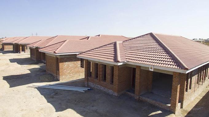 Hwange housing projects take shape