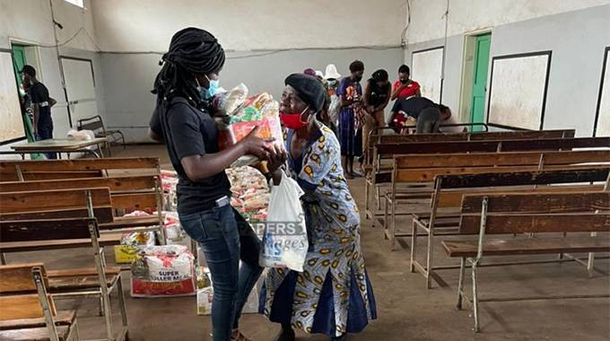 JUST IN: Youth group assists widows, vulnerable households